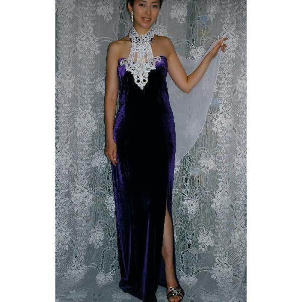 e6792a67ff037 パーティードレス DD-002 ステージドレス  高級ベルベット |gracekelly ...