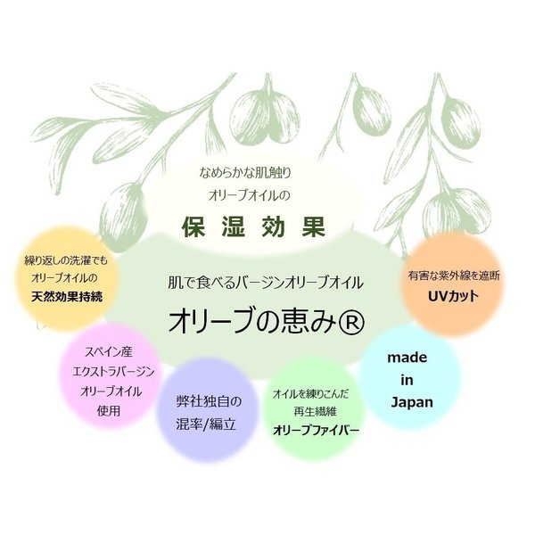 オリーブの恵み 段階着圧ソックス で うるおい&美脚&疲れ軽減のうれしい3つのケアが可能な靴下。光沢がなくどのようなシーンでも着用いただけます|graceofgloves|05
