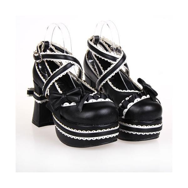 ロリータ 靴 LOLITA COS靴 歩きやすいロリータ靴 シューズ ロリータ靴 新品 cosplay 厚底靴 女王靴 ロリータ 22.0〜27.0サイズ有りdi306s1s1c1