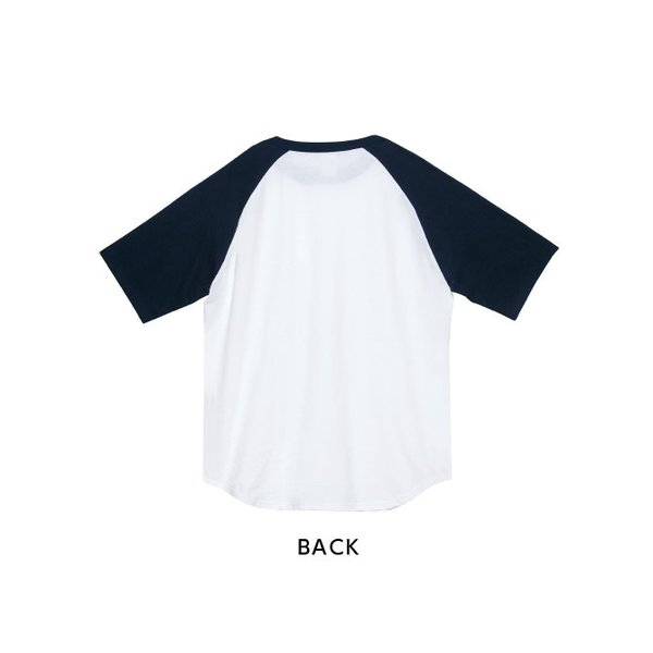 Tシャツ メンズ 半袖 無地 ラグラン Printstar(プリントスター) 5.6オンス ヘビーウェイトラグランTシャツ 00106-CRT|grafit|03