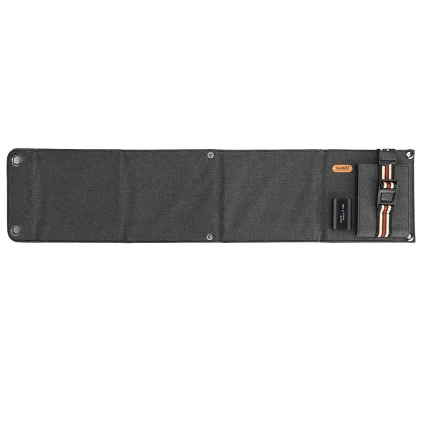 suaoki ソーラーチャージャー 14W ソーラーパネル 4枚搭載 折りたたみ式 USB自動検知機能搭載 軽量 コンパクト ポータブル アウトドア 防災 非常用時 スマホなど|grandbox|03