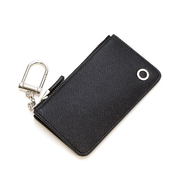 sports shoes 8019d a6b36 ブルガリ キーケース/コインケース メンズ BVLGARI BLACK ブラック Coin-holder with zip and keyring  BVLGARI BVLGARI MAN ブルガリ ブルガリ マン 282604