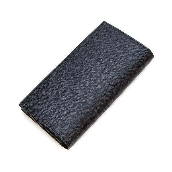 バーバリー 2つ折り長財布(小銭入れ付き) メンズ BURBERRY グレイニーレザー コンチネンタルウォレット ブラック CAVENDISH 8014642 A1189 BLACK|grande-tokyo|02