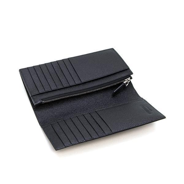バーバリー 2つ折り長財布(小銭入れ付き) メンズ BURBERRY グレイニーレザー コンチネンタルウォレット ブラック CAVENDISH 8014642 A1189 BLACK|grande-tokyo|04