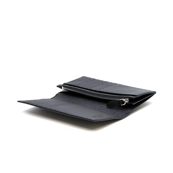 バーバリー 2つ折り長財布(小銭入れ付き) メンズ BURBERRY グレイニーレザー コンチネンタルウォレット ブラック CAVENDISH 8014642 A1189 BLACK|grande-tokyo|05