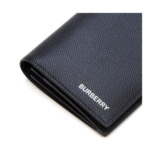 バーバリー 2つ折り長財布(小銭入れ付き) メンズ BURBERRY グレイニーレザー コンチネンタルウォレット ブラック CAVENDISH 8014642 A1189 BLACK|grande-tokyo|07