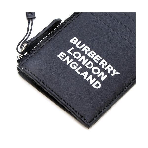 バーバリー BURBERRY カードケース ロゴプリントレザー ジップカードケース ブラック ALWYN 8014709 A1189 BLACK|grande-tokyo|06