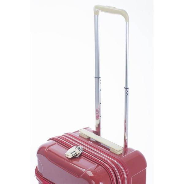 スーツケース ACTUS アクタス (Sophie ソフィー 機内持込 キャビンサイズ 小型 Sサイズ 拡張トップOPEN) 53cm (Sサイズ)(キャリーバッグ)(送料無料)|grandplace|12