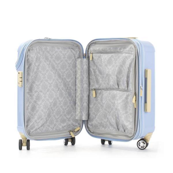 スーツケース ACTUS アクタス (Sophie ソフィー 機内持込 キャビンサイズ 小型 Sサイズ 拡張トップOPEN) 53cm (Sサイズ)(キャリーバッグ)(送料無料)|grandplace|05