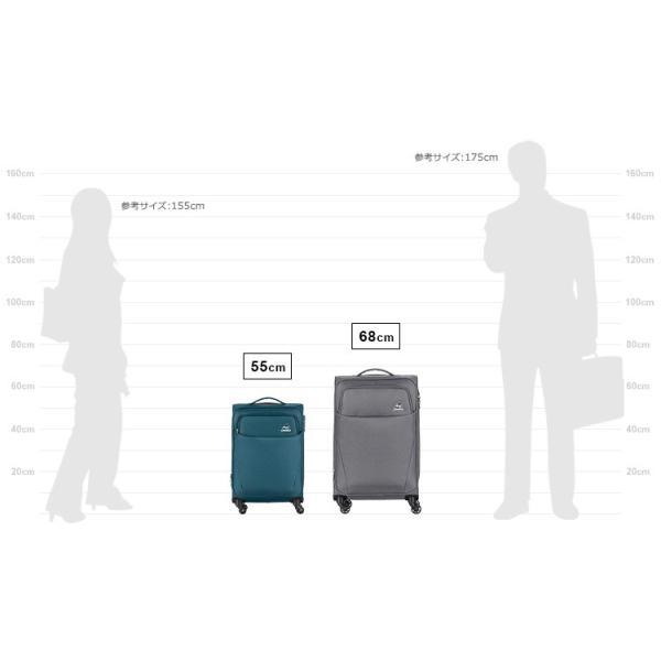 【今だけ送料無料】スーツケース カメレオン by サムソナイト (PONTOS CLX ポントスCLX SPINNER 55/20 EXP TSA 機内持ち込み メーカー1年保証・FG5*004) 55cm|grandplace|19