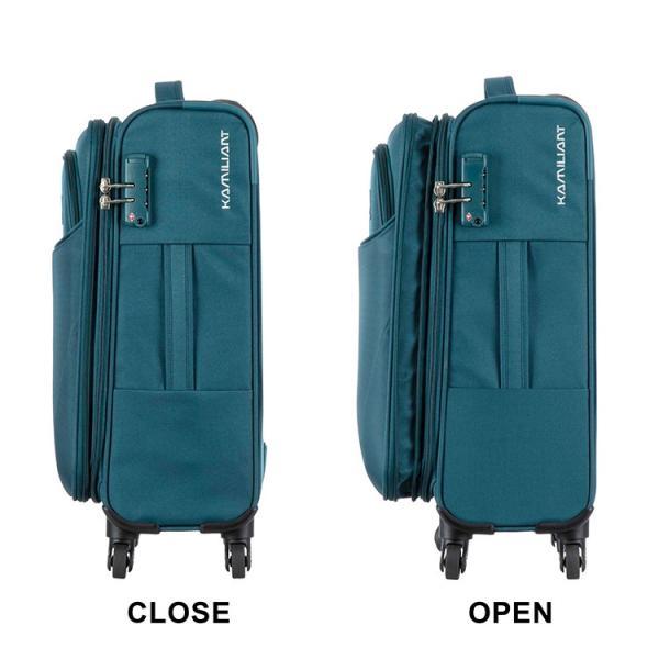 【今だけ送料無料】スーツケース カメレオン by サムソナイト (PONTOS CLX ポントスCLX SPINNER 55/20 EXP TSA 機内持ち込み メーカー1年保証・FG5*004) 55cm|grandplace|09