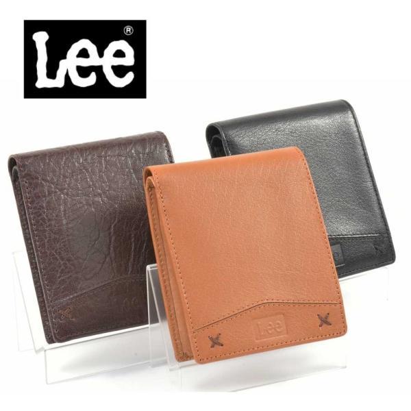 3878f4305cf40a Lee リー 本革二つ折り財布 0520312 メンズ ウォレット レザー 全3色 メンズ財布