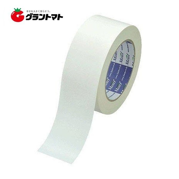 カラー布粘着テープ No.890 白 50mm×25m 古藤工業