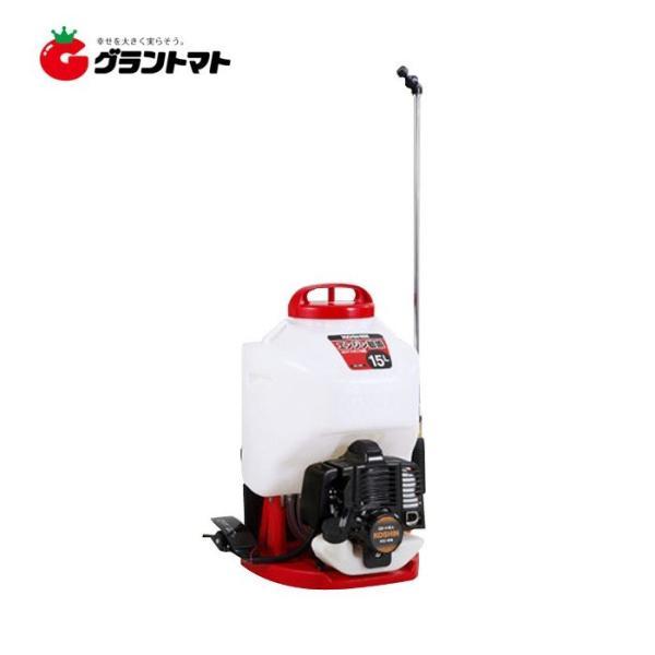 ガーデンスプレーヤー ES-15C 15L 背負動噴 エンジン式噴霧機 工進【取寄商品】