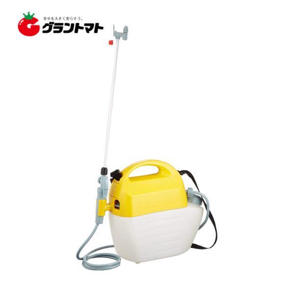 ガーデンマスター 5L GT-5HS 乾電池式噴霧器(洗浄スイッチ付) 工進