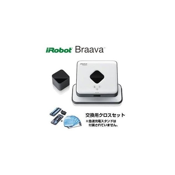 国内正規品 アイロボット ブラーバ371j ロボット掃除機 床拭き 水拭き から拭き Braava371j[10000円アマゾンギフト付]|gratiashopping