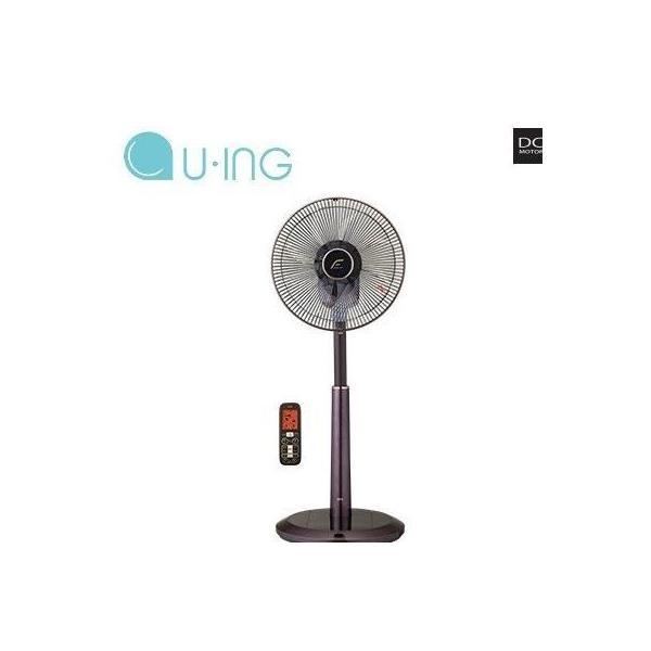 ユーイング 扇風機 DCモーターリビング扇 UF-DTR30L-T ロージーブラウン納期:お取寄せ【15倍ポイント】