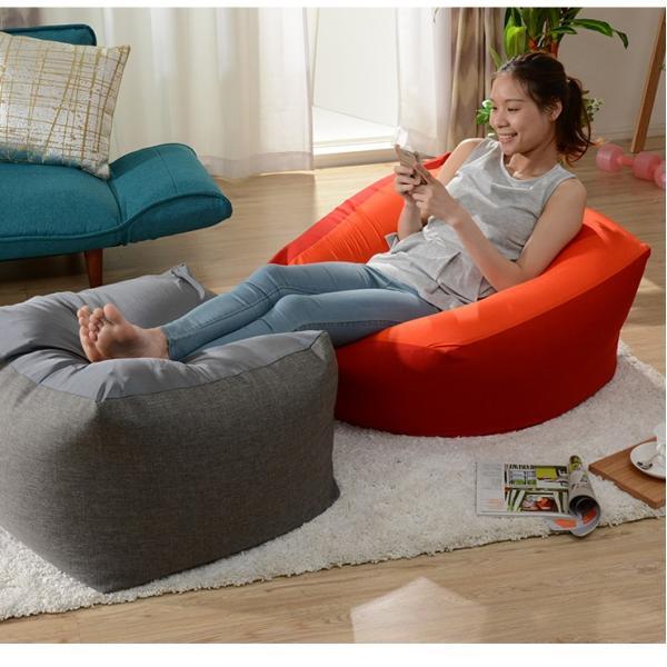 人をダメにする クッション ソファ ソファー sofa ビーズ 大型 リビング キューブXL 北欧 grazia-doris 11