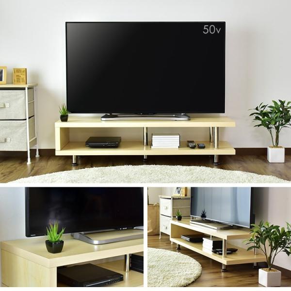 テレビ台 おしゃれ AVラック ボード tvボード ロー ラック 木目 収納 幅120 木製 NEWコルテガ 北欧 新生活 grazia-doris 04