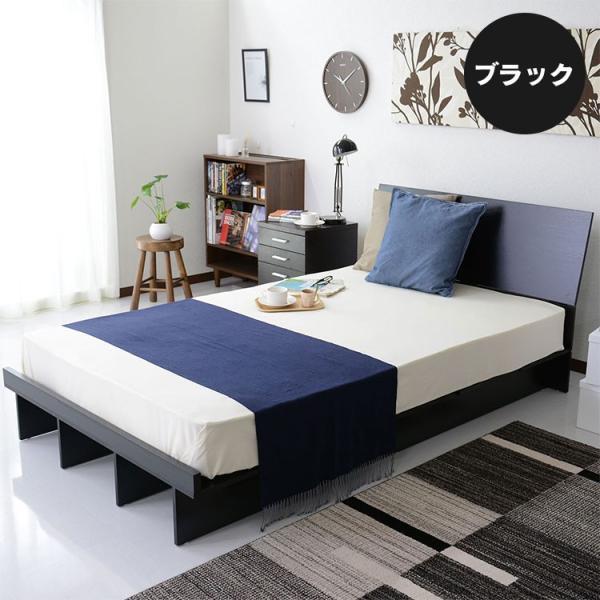 ベッド ベット ロータイプ ローベッド フロアベッド 木製 収納 シングルサイズ ベッドフレーム シンプル コモドS 北欧|grazia-doris|04