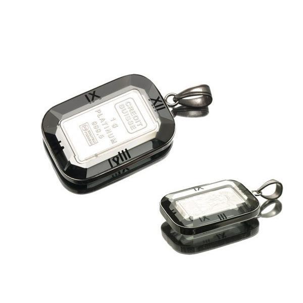 リバティ コイン ペンダントトップ プラチナ 1.0g K18WG枠  新品ks206/SZT