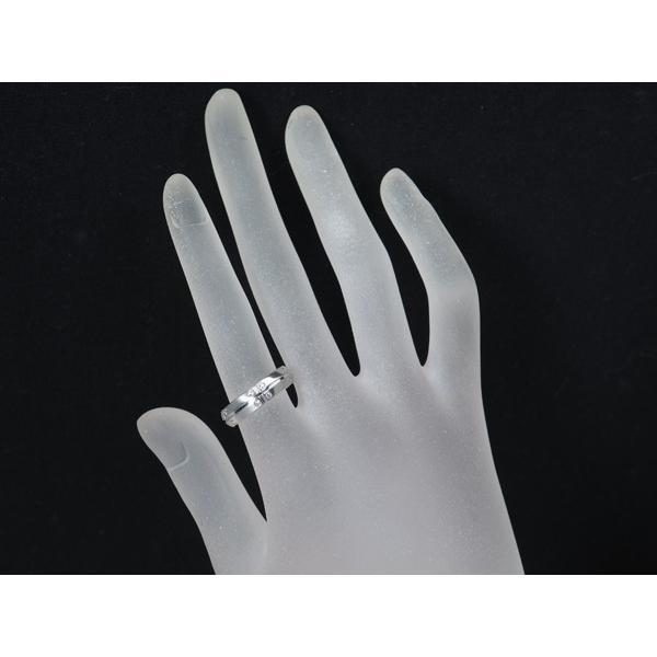 ティファニー 指輪 ダイヤ ダイヤモンド ストリーメリカ ワイド K18WG 10.5号 BLJ  超大幅値下げ品