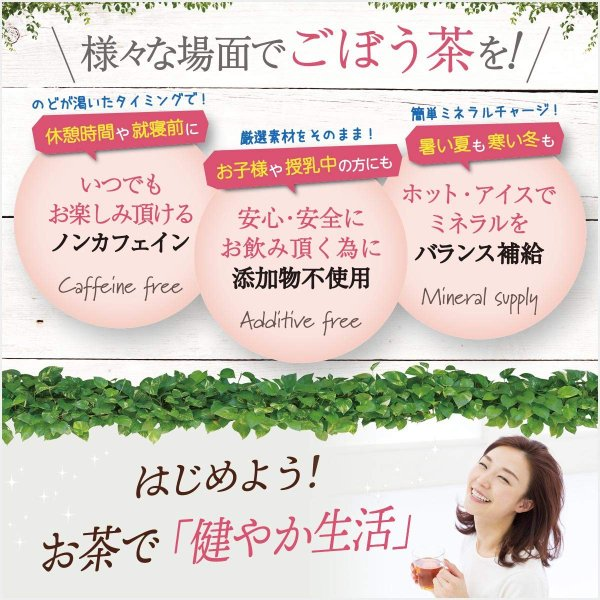ごぼう茶 2g×40包 国産 恵み茶屋|green-landscape-inc|07