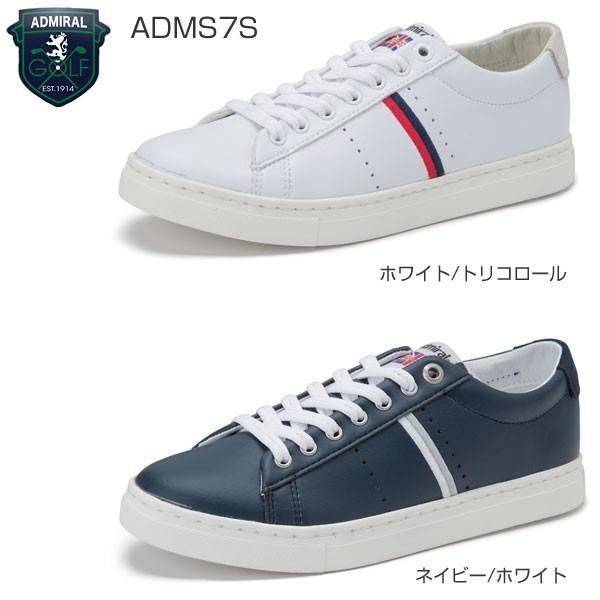 アドミラル ゴルフ MARHAM スパイクレス メンズ ゴルフシューズ ADMS7S|greenfil-wear