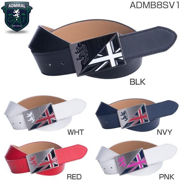 アドミラル ゴルフ ランパントバックル ベルト ADMB8SV1|greenfil-wear