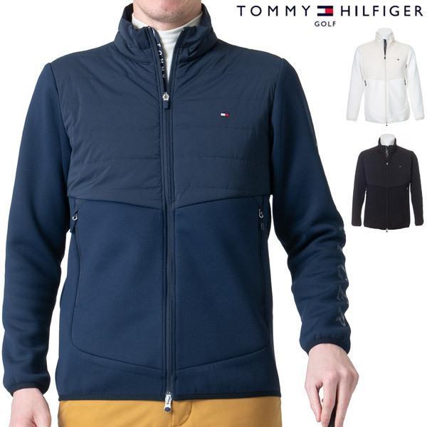 トミーヒルフィガー ゴルフ ウェア メンズ ヒルフィガー アクションプリーツ ハイブリッド 中綿ジャケット THMA173 2021年秋冬モデル S-XL