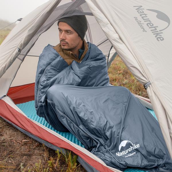 寝袋 封筒型 コンパクト 携帯 軽量 シュラフ 寝袋 キャンプ アウトドア 車中泊 防災グッズ|greenlabel|02