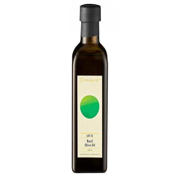ORIWA_Lot 32 2019 バジルオリーブオイル(500ml) <ニュージーランド産 オーガニック>< Lot 32 2019 Basil Infused Olive Oil 500ml> greenpasture-japan