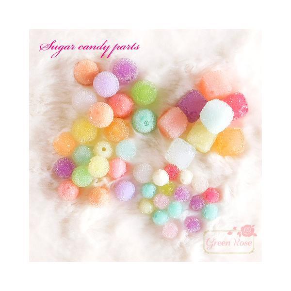 デコパーツ シュガーキャンディパーツミックス100g スイーツデコ プラスチック   2010 キッズ YM1-1729