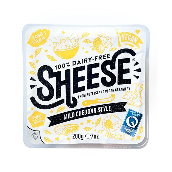 シーズ・ マイルドチェダースタイル ブロック 200g【ベジタリアンチーズ Vegan Cheese sheese】 tt jn