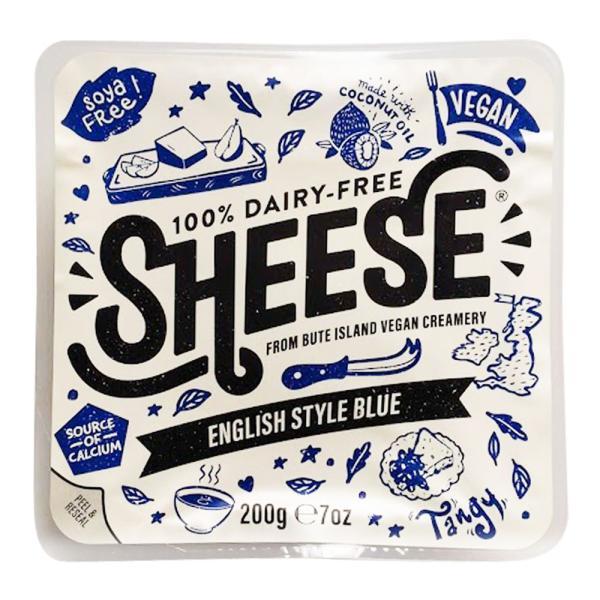 動物原料&乳製品不使用 シーズ・ブルーイングリッシュスタイル 200g【ベジタリアンチーズ Vegan Cheese sheese】 tt jn