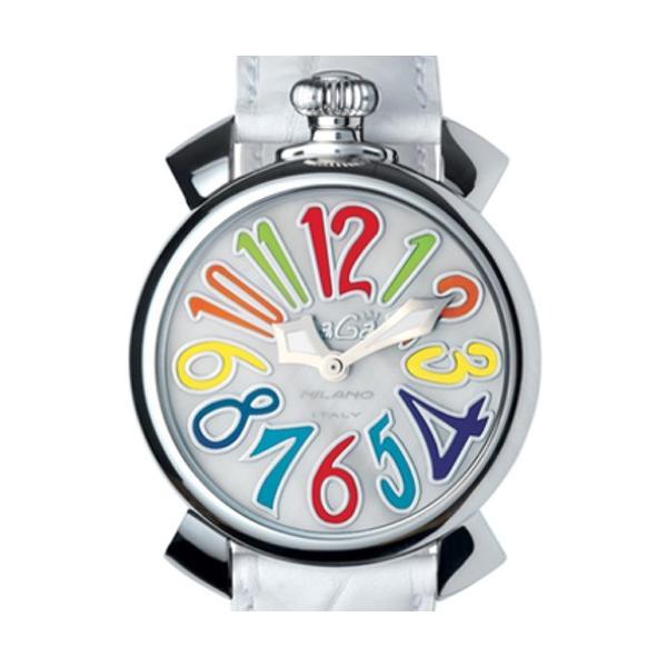 premium selection 047ad f72f0 ガガミラノ 時計 マヌアーレ メンズ レディース ユニセックス 腕時計 GaGa MILANO Manuale 40mm 5020.1 シェル文字盤  クオーツ