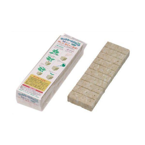 大和プラスチック ロックウールブロック 60P   育苗用品 栽培用品