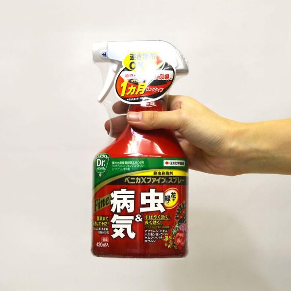 殺虫剤 ベニカXファインスプレー 420ml 住友化学園芸|greentime|04