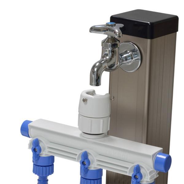 蛇口 ジョイント 分岐 3分岐蛇口ニップル GWF11 takagi タカギ 安心の2年間保証 水やり 水まき 継手 ワンタッチ ジョイント|greentools|05