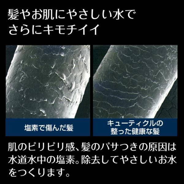 シャワーヘッド 塩素除去 カプセル Miz-e 浄水 シャワー カートリッジ 2個入 ミズイー JSC001 送料無料 タカギ takagi 安心の日本製|greentools|03