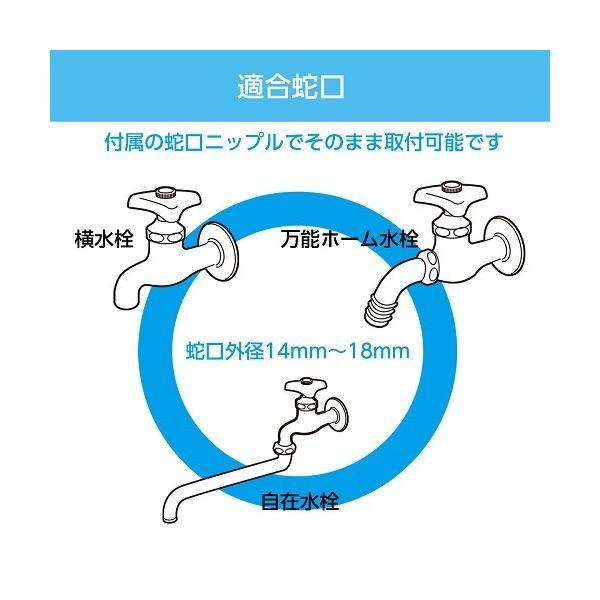 ホースリール 30m タカギ カバー付き 踏み台 送料無料 オーロラSTEP RG330TNB takagi 安心の2年間保証|greentools|02
