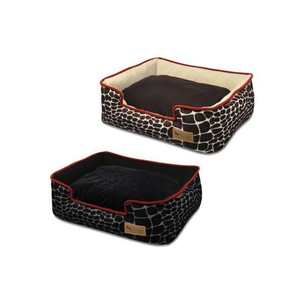 ラグジュアリーベッド「P.L.A.Y」 ペット用ベッド ラウンジベッド(BOX型) Mサイズ カラハリ 代引き不可・同梱不可 greetings