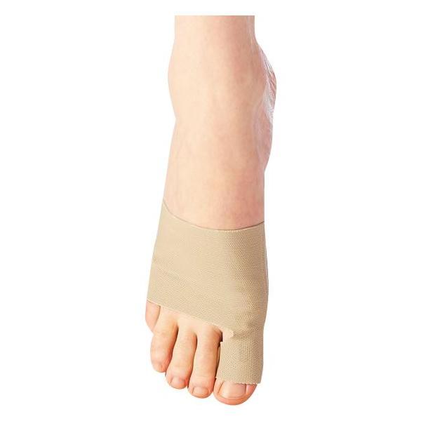 magico Labo(マジコラボ) 外反母趾サポーター シームレス・フィット 左右兼用(2枚入り) ベージュ靴下 パンプス 靴 代引き不可・同梱不可