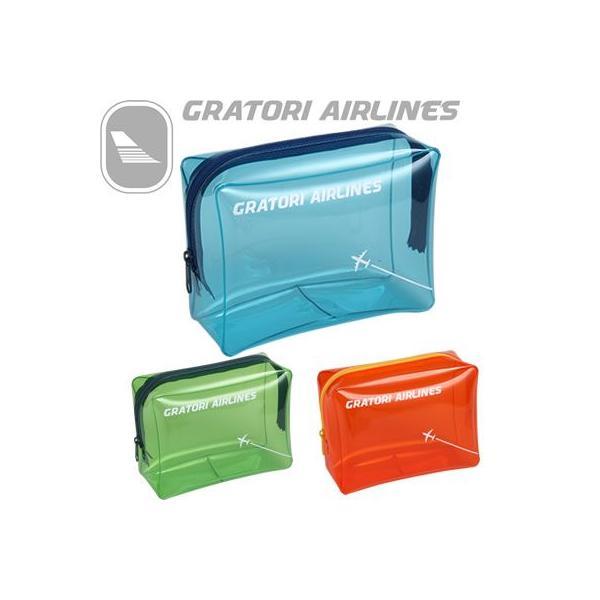 日本製 グラトリ エアラインズ GRATORI ビニールポーチL 506100(ko1a189)