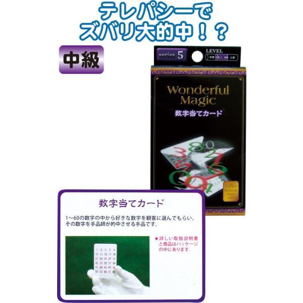 【まとめ買い=注文単位12個】マジックグッズ中級 数字当てカード G85554 37-243(se2c198)