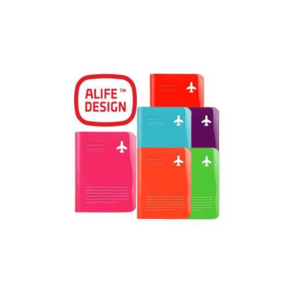 [送料299円〜]ALIFE アリフ ハッピーフライト パスポートカバー ファミリー sncf-140 4点迄メール便OK(su0a162)