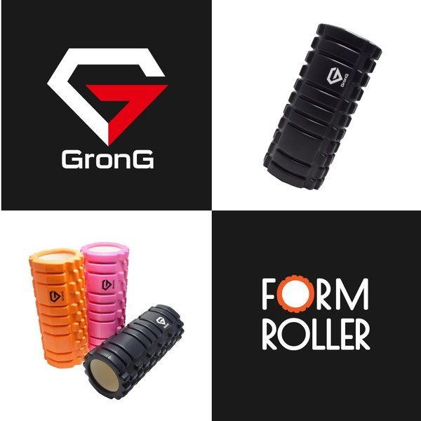 GronG フォームローラー ストレッチローラー ヨガポール ストレッチ マッサージ 筋膜リリース タイプA|grong|02