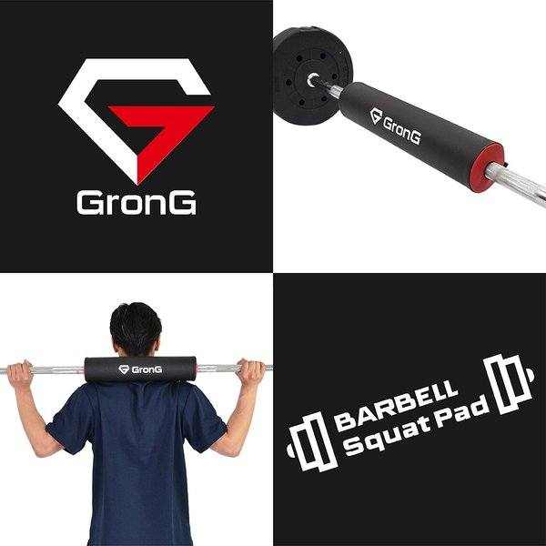 GronG スクワットパッド バーベル シャフト パッド 筋トレ grong 02