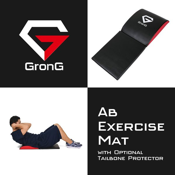 GronG 腹筋マット 腹筋補助マット 筋トレ サポート 製品説明書付き|grong|02