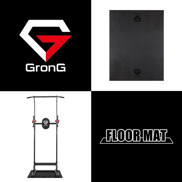 GronG フロアマット トレーニングマット 100×80cm 厚さ6mm|grong|02